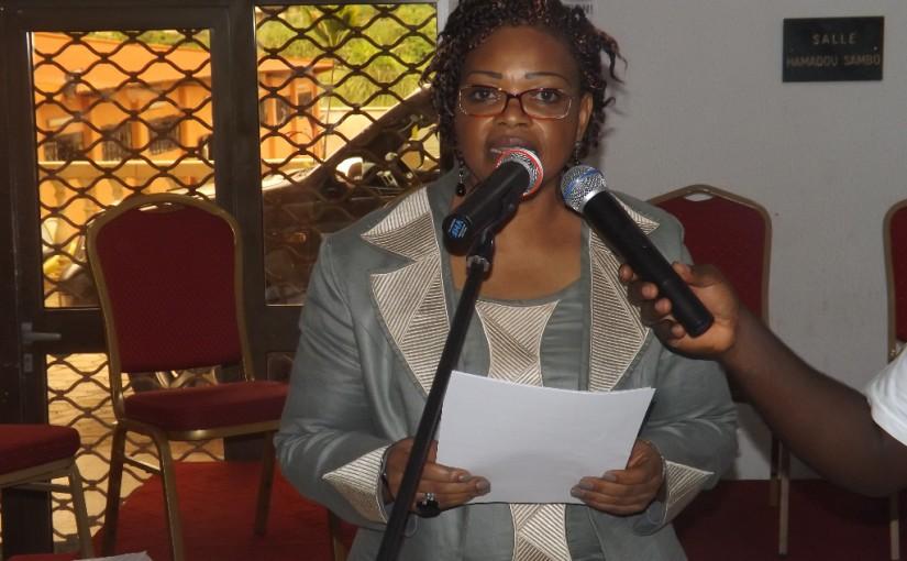 Jmst2015 Allocution de bienvennue du Dr Flore NDEMBBIIYEMBE