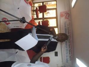 Allocution de M. Pascal Awono, représentant du Ministre de la Santé Public