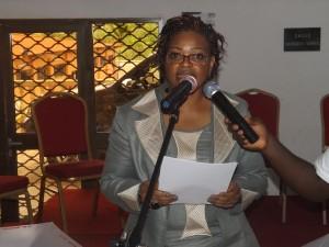 Allocution de bienvenue du Dr Flore NDEMBIYEMBE, Pdte C3T