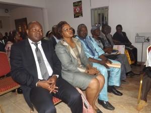De nombreux officiels au rendez-vous