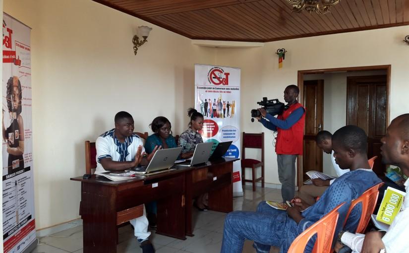Echanges entre les experts de la C3T et la presse Camerounaise