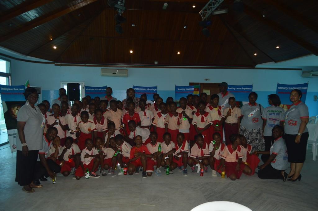 14.2. Excited school children at WNTD 2017