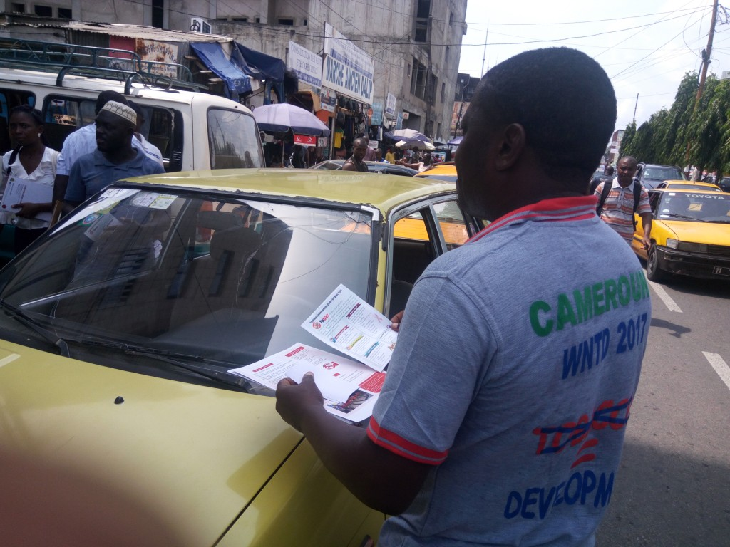 15. Affixing of sensitisation gadets onTaxis