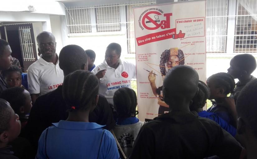 la C3T explique les méfaits du Tabac aux élèves