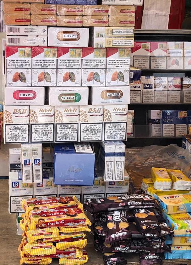 Cohabitation Produits du tabac